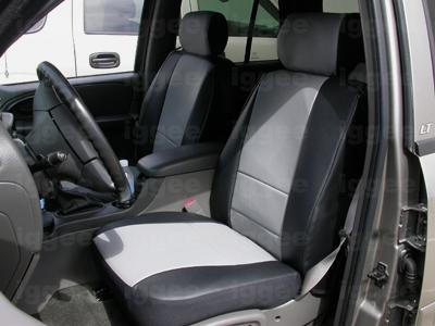 CHEVY TRAILBLAZER 2006-2009 IGGEE S.LEATHER CUSTOM SEAT ...