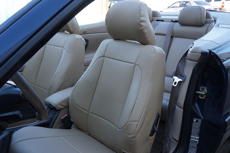 volvo c70 convertible 1999 2004 leather like custom fit seat cover 13 colors ebay. Black Bedroom Furniture Sets. Home Design Ideas