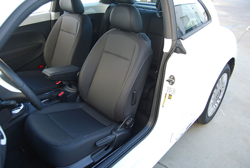 volkswagen beetle 2012 2014 iggee s leather custom fit seat cover 13 colors. Black Bedroom Furniture Sets. Home Design Ideas