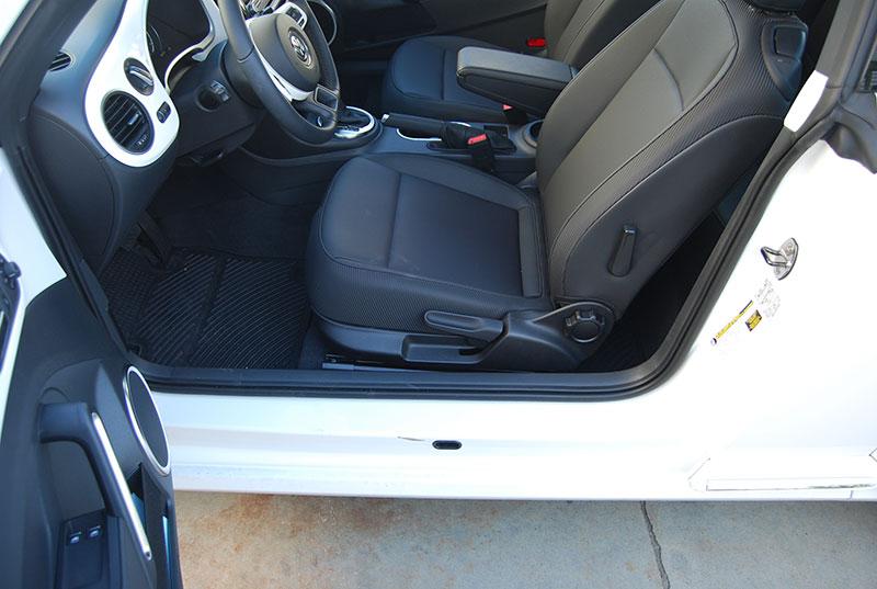 volkswagen beetle 2012 2014 leather like custom seat cover ebay. Black Bedroom Furniture Sets. Home Design Ideas