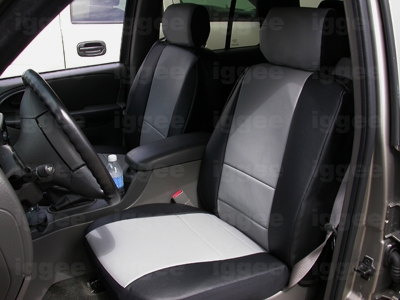 GMC ENVOY 2003-2009 LEATHER-LIKE CUSTOM FIT SEAT COVER | eBay